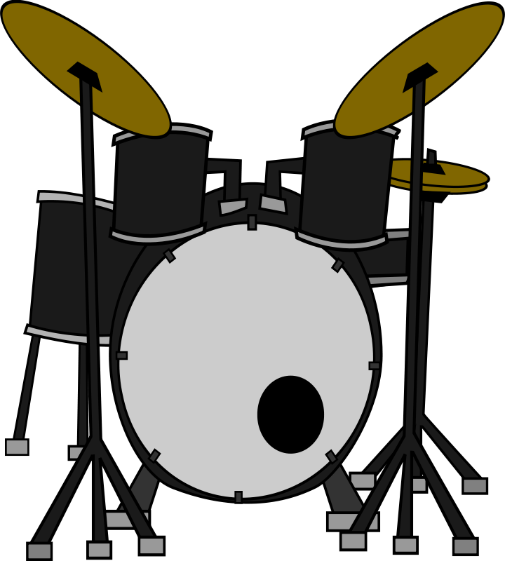Pin By Debbie O Shea On Public Domain Music Images Collaborative Board Clip Art Drums Art Free Clip Art