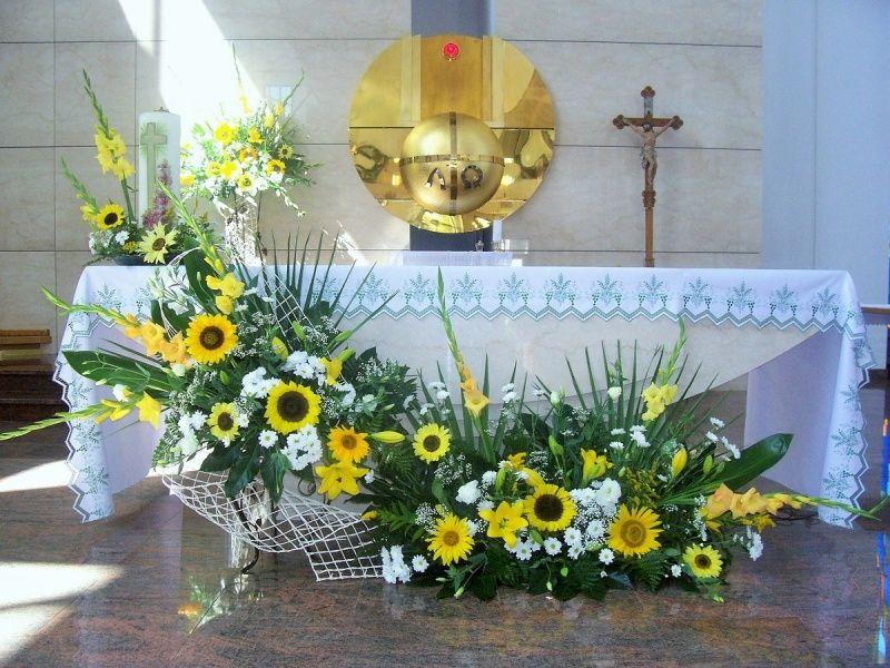 Wystroj Kosciolow Easter Flower Arrangements Large Flower Arrangements Flower Vase Arrangements