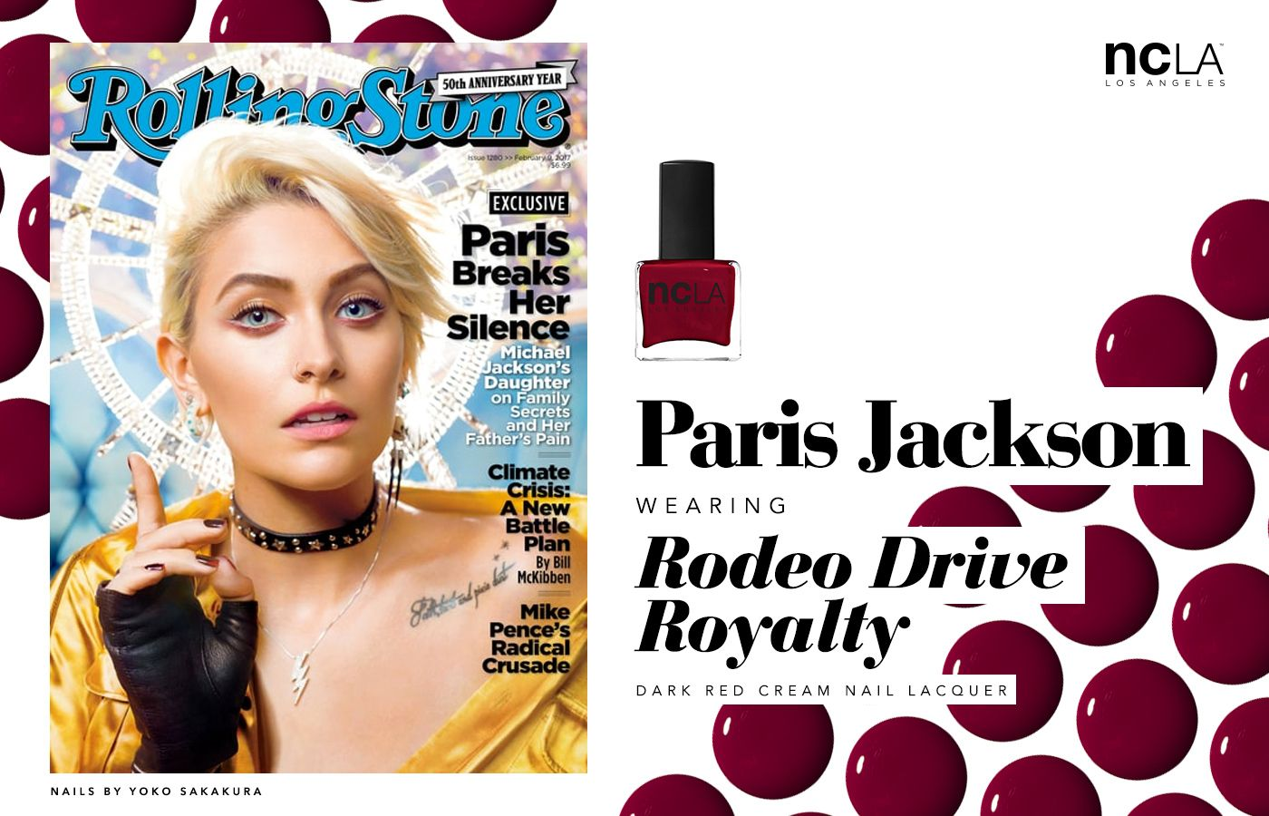 Paris Jackson Covers Rolling Stone Magazine In Ncla