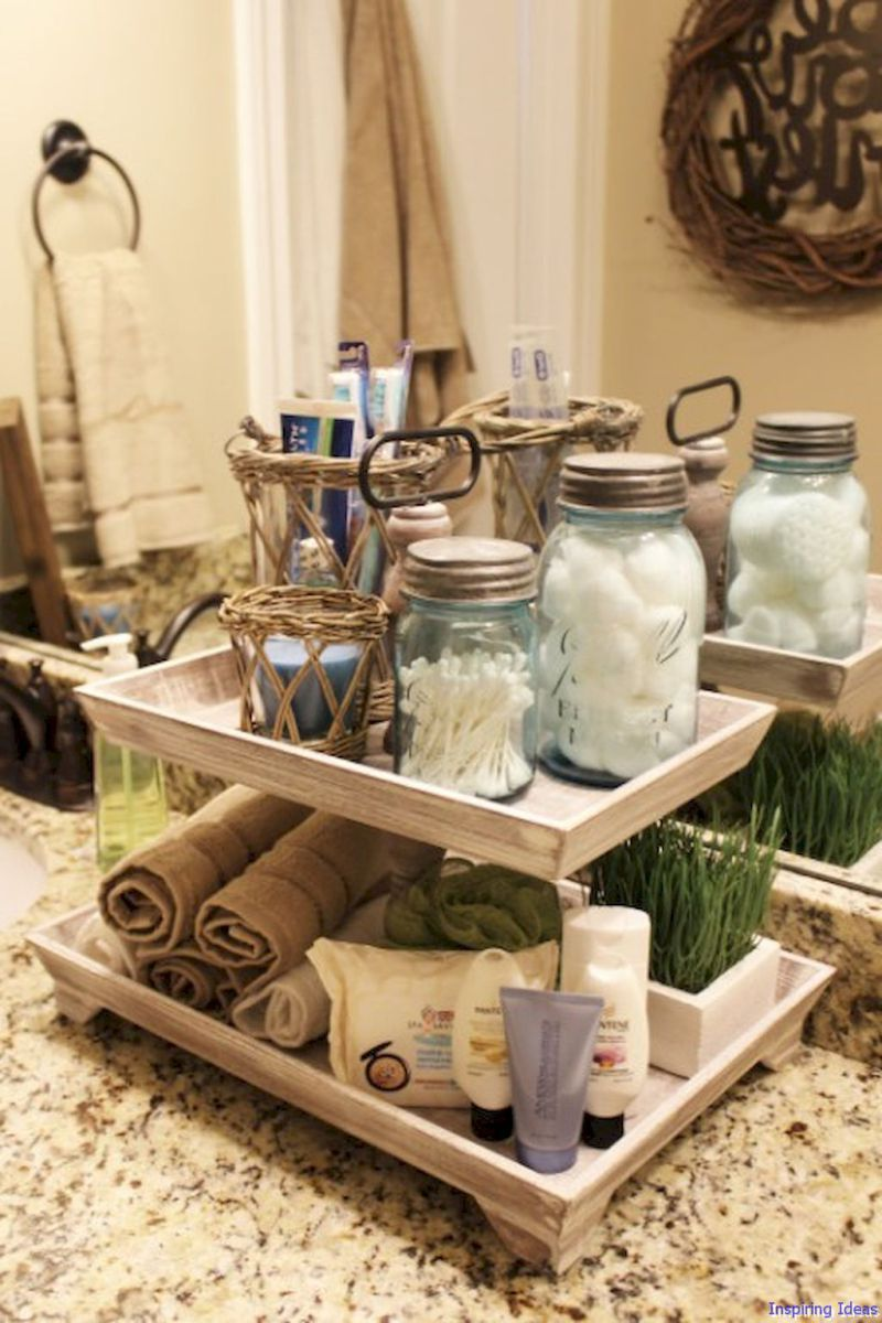 Clever Bathroom Organization Ideas And Tips 038