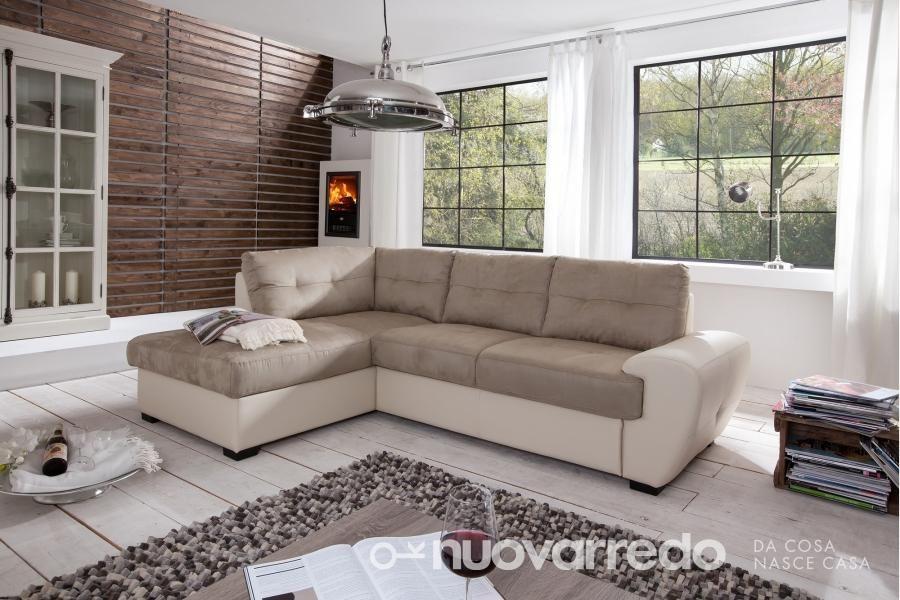 Divano burner angolare nuovarredo divani letto sectional sofa sofa e couch - Divano letto shabby ...