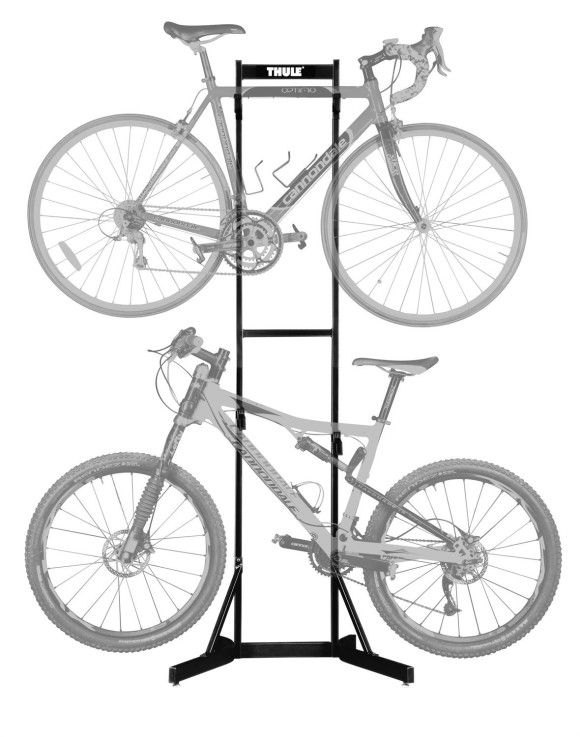 Thule And Other Bike Rack Storage With Freestanding Models Thule Bike Bike Storage Bike Discount