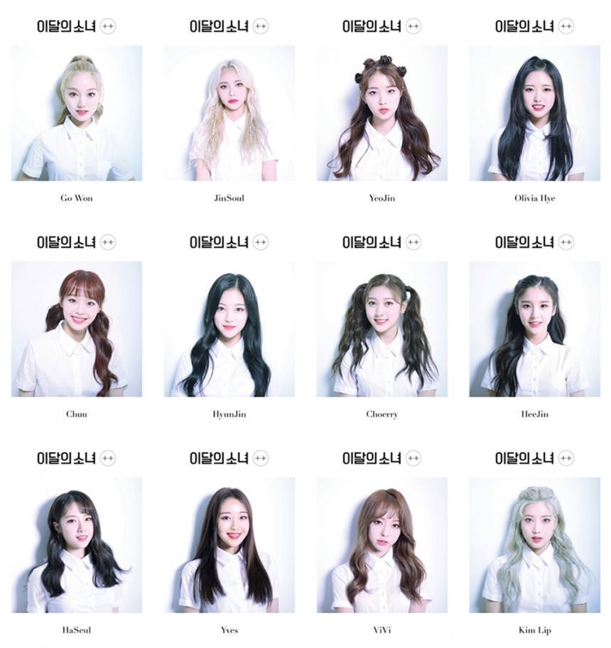 Prettiest Members Of Loona Girls Group Names Kpop Group Names Kpop Comeback