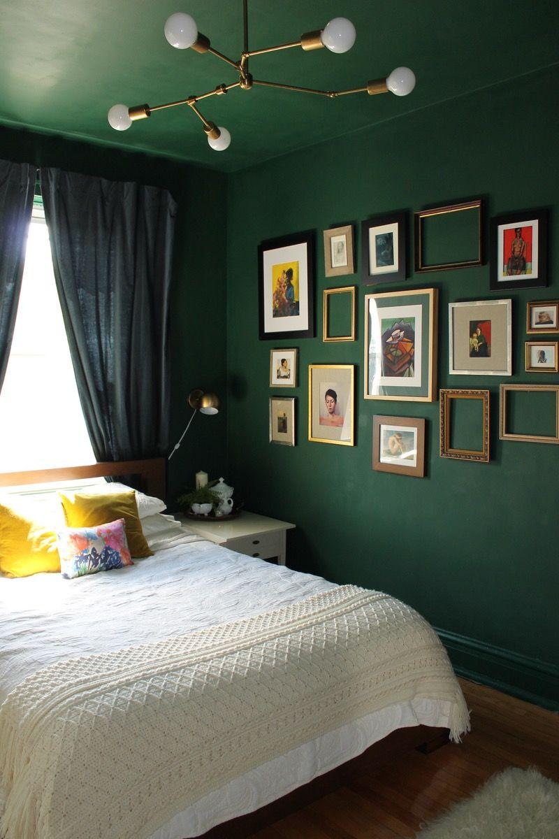 10 Dark Bedroom Ideas 2020 Sleep Well Every Night Green