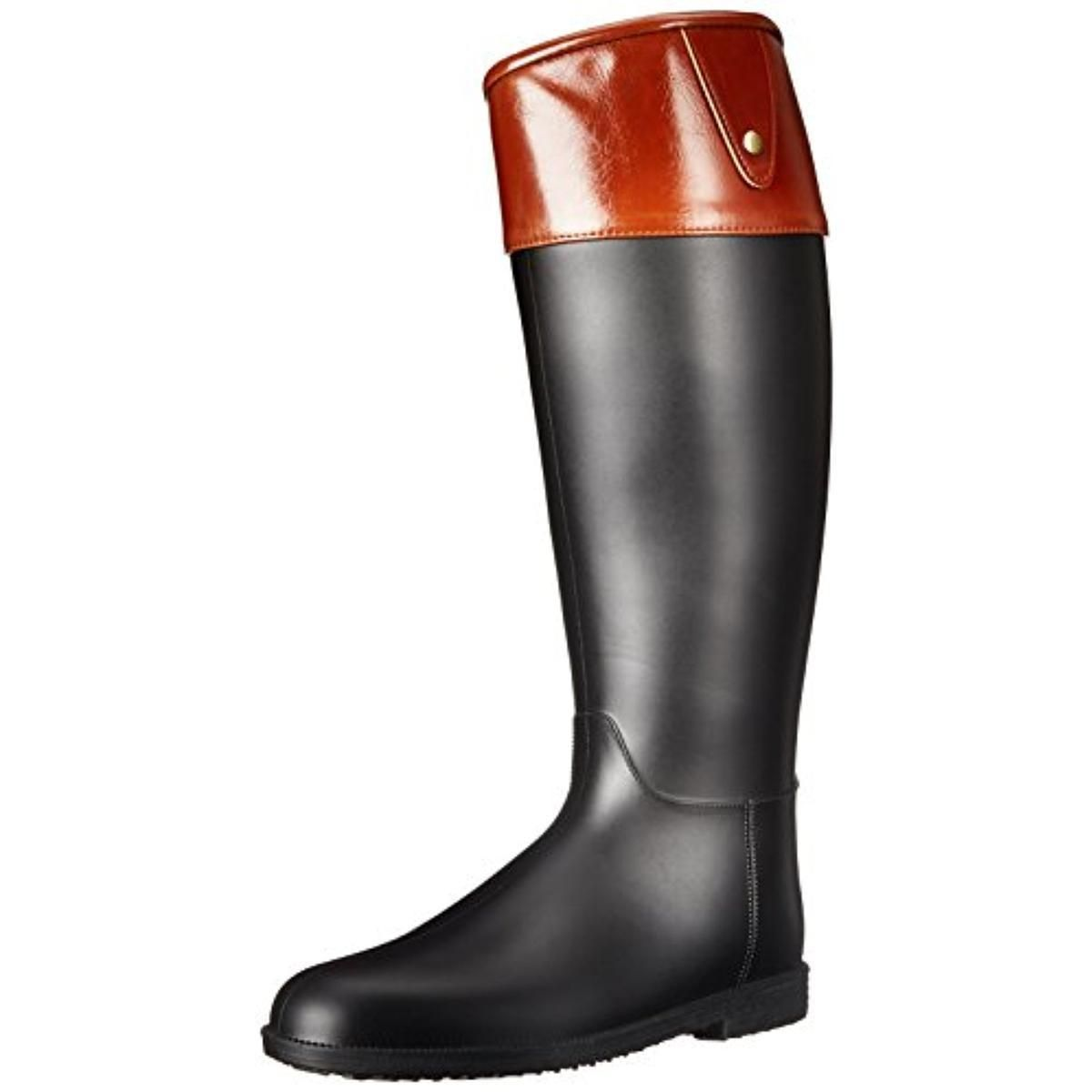 Qupid Womens Maine02 Knee-High Pull On Rain Boots