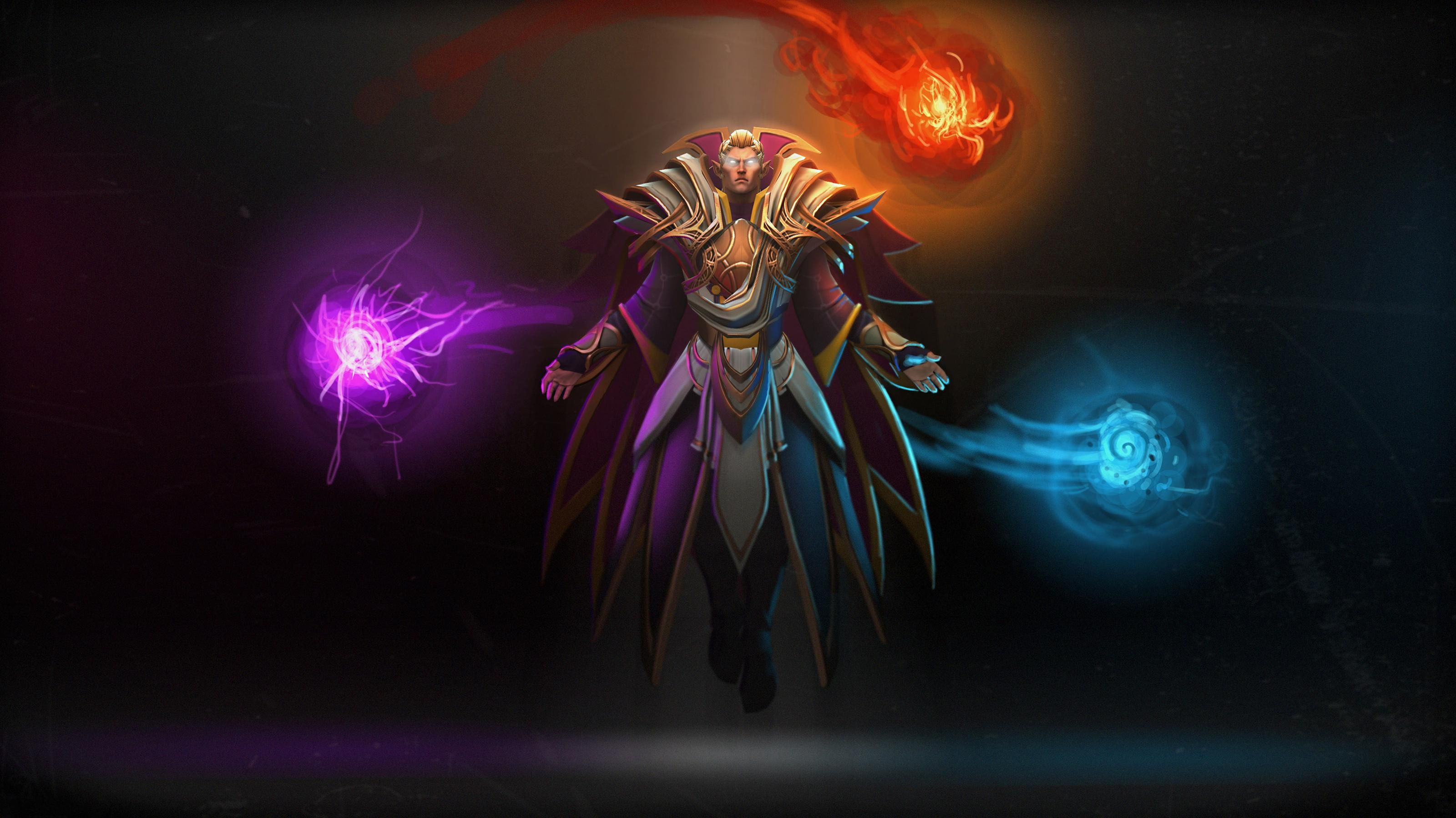 Dota 2 Invoker Wallpaper Desktop Background ...