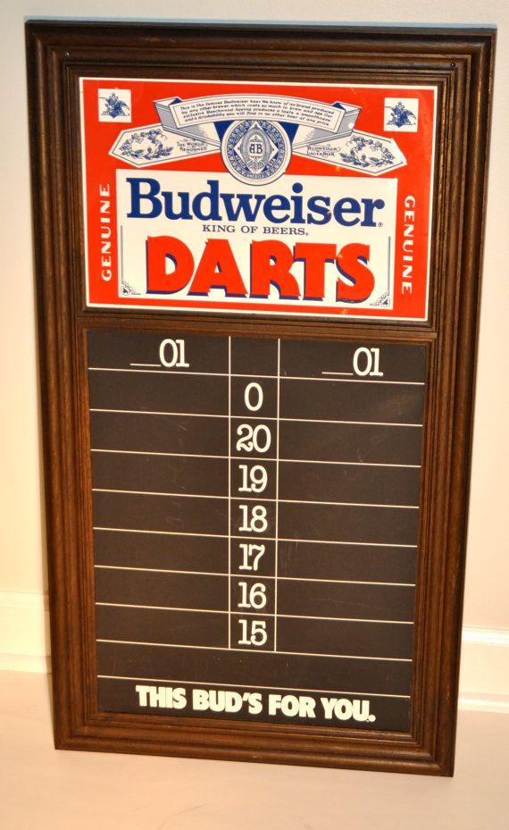 Advertising-print Hot Sale 1987 Official Budweiser Scorecard Play-off Series High Quality Goods