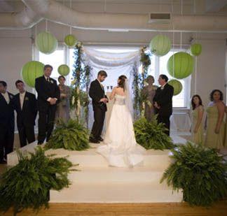 Indoor Ceremony Background Ideas Wedding Decor