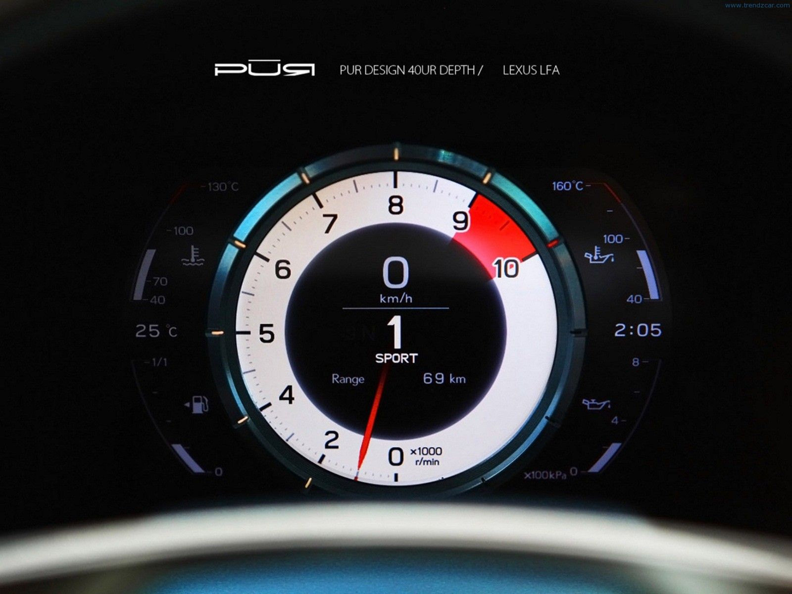 2012 PUR Wheels Lexus LFA Interior