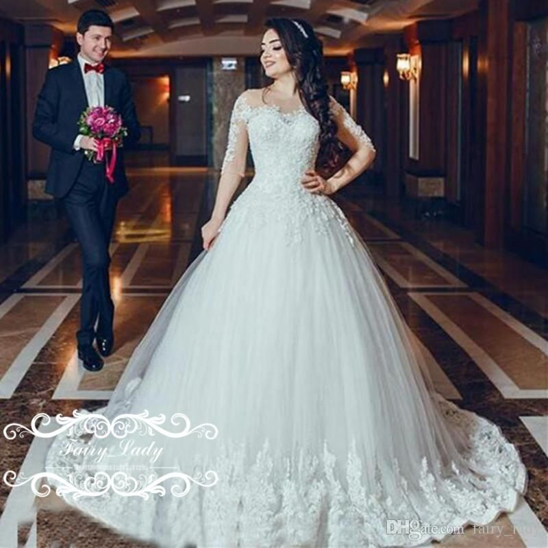 Pin by Tracy Chen on Wedding Dresses | Pinterest | Lace wedding ...