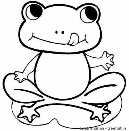 frogs coloring pages  frog coloring pages frog pictures