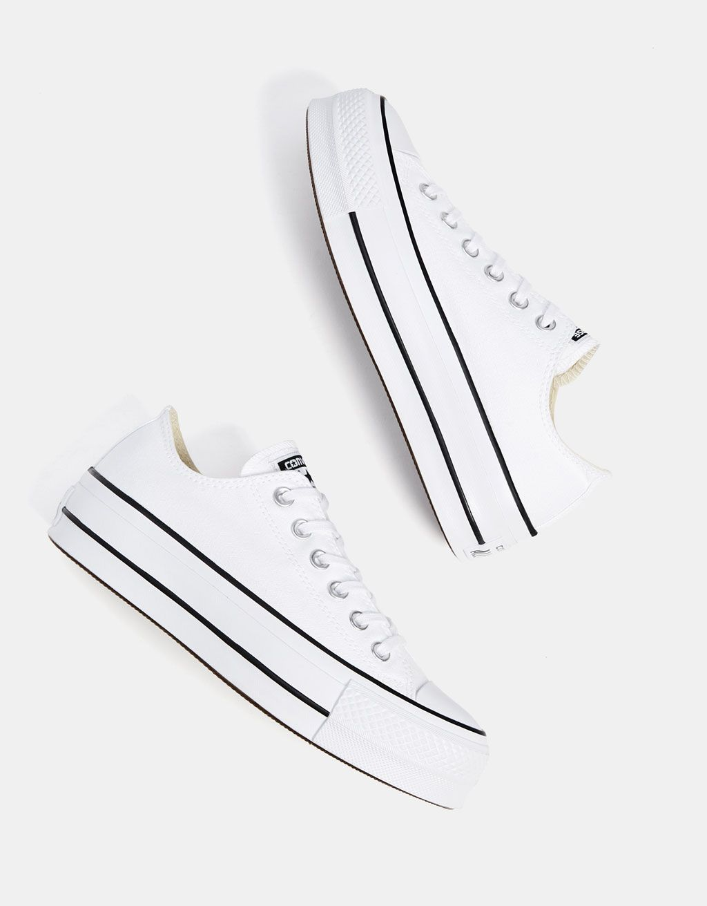 1c2e550cc4 CONVERSE CHUCK TAYLOR ALL STAR platform sneakers. Discover this and many  more items in Bershka with new products every week