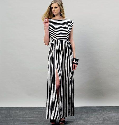Schnittmuster Maxikleid | DIY Fashion | Pinterest | Schnittmuster ...