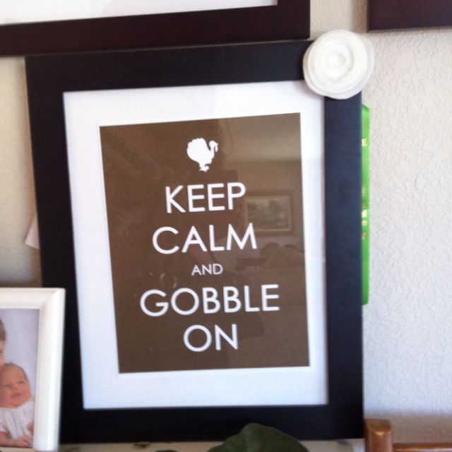Gobble gobble!
