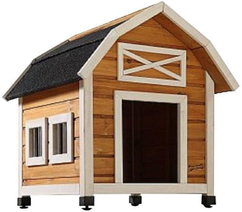 Indoor Dog Houses Small Dogs Bb Wood Dog House Gambrel Roof
