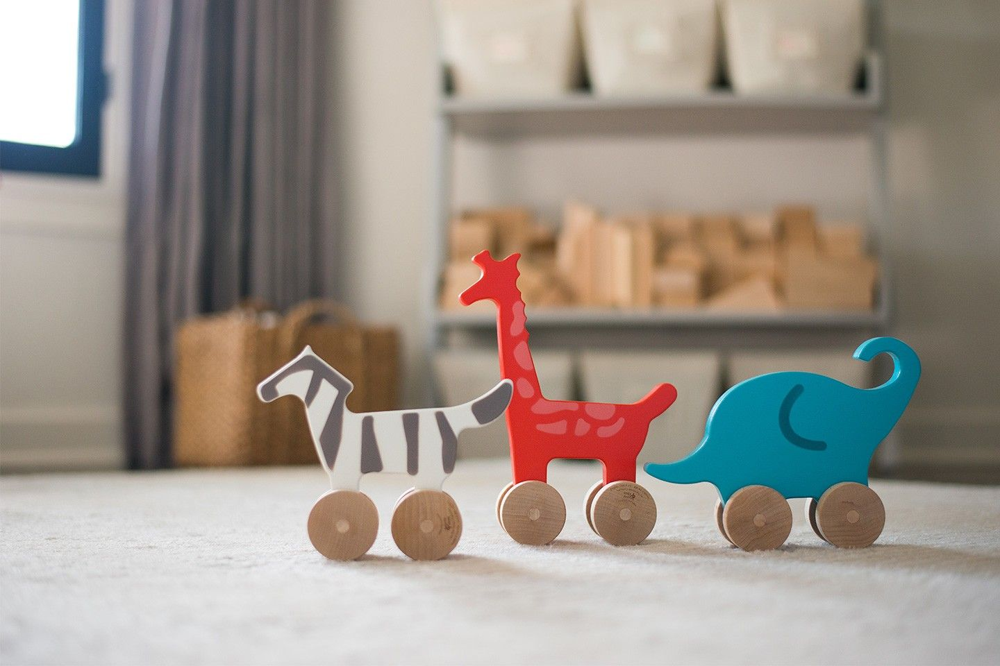 I love the look of wooden toys, and this non-toxic, eco-friendly Zebra from Honest and Manny and Simon is no exception.