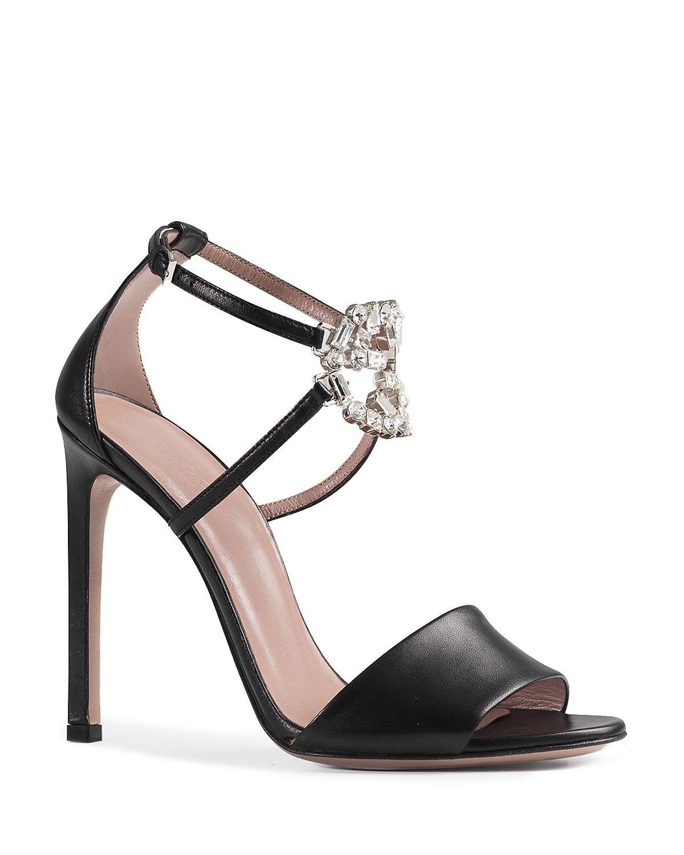 fcf53e0c177 Gucci Sandals - GG Sparkling High Heel