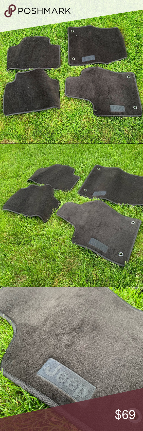 Jeep Grand Cherokee Carpet Floor Mats New Nwt Jeep Grand