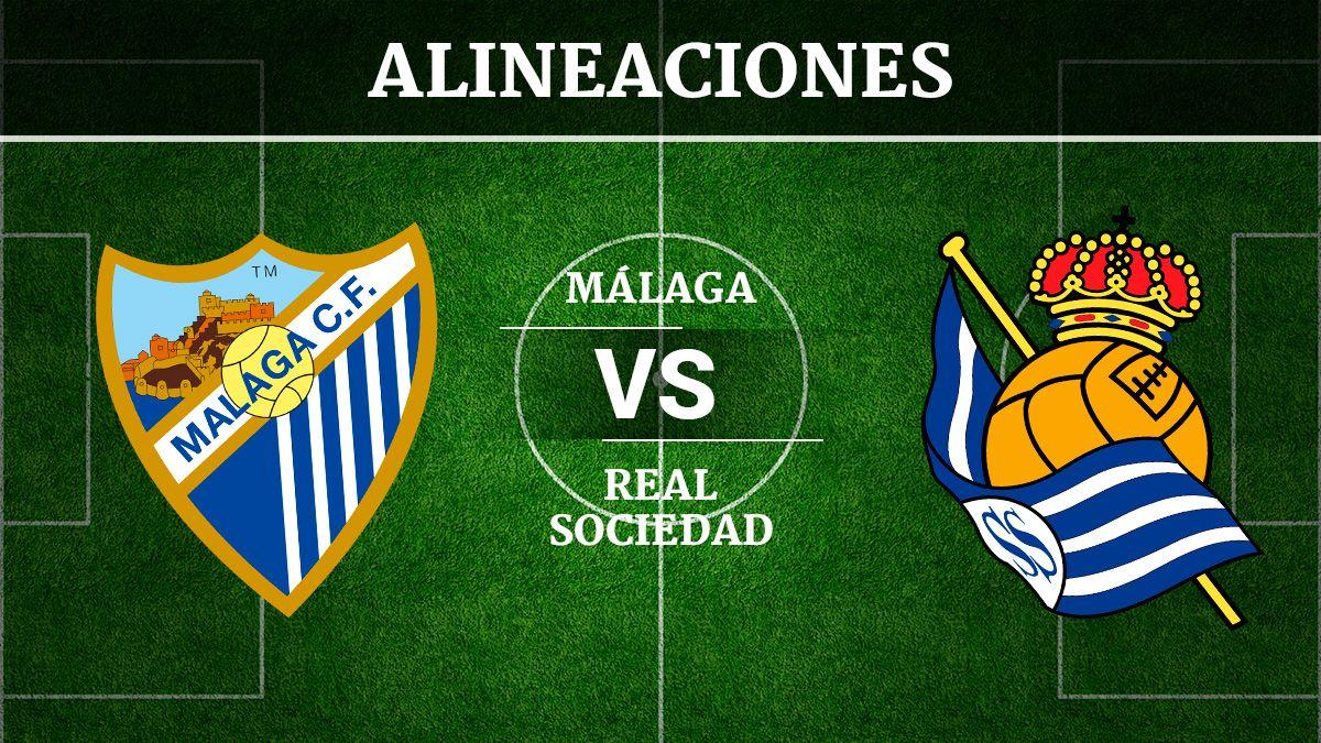 Malaga Vs Real Sociedad Alineaciones Horario Y Canal De
