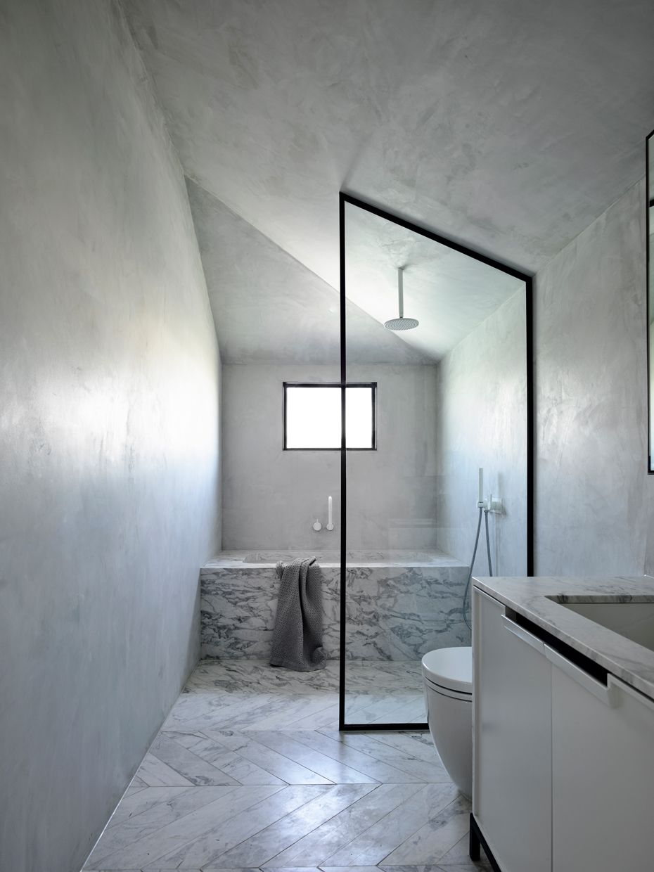 A Large Skylight Bathes The Lounge In Sunlight And Floor To