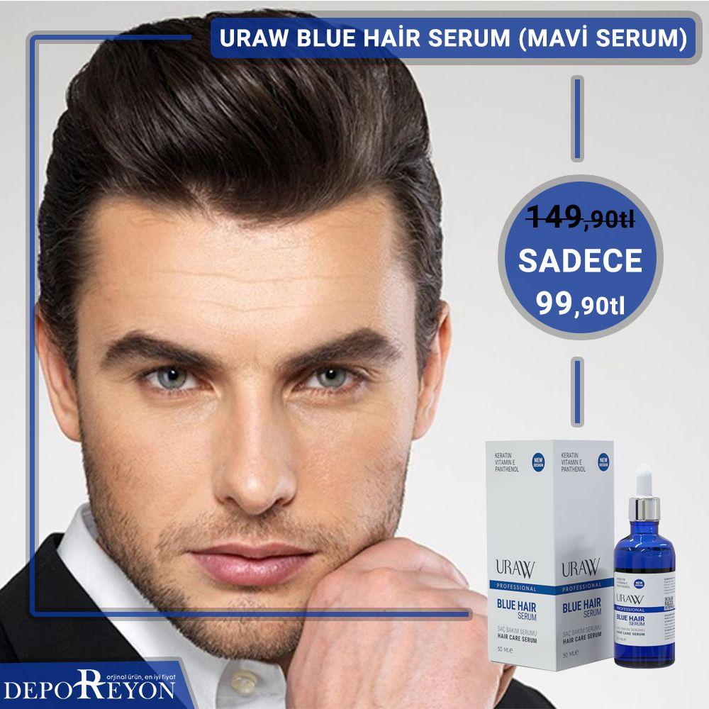 Uraw Blue Hair Serum Mavi Serum 149 90tl Yerine Sadece 99 90tl