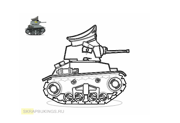 Раскраски (Мультики про танки) | Раскраски, Обучение ...