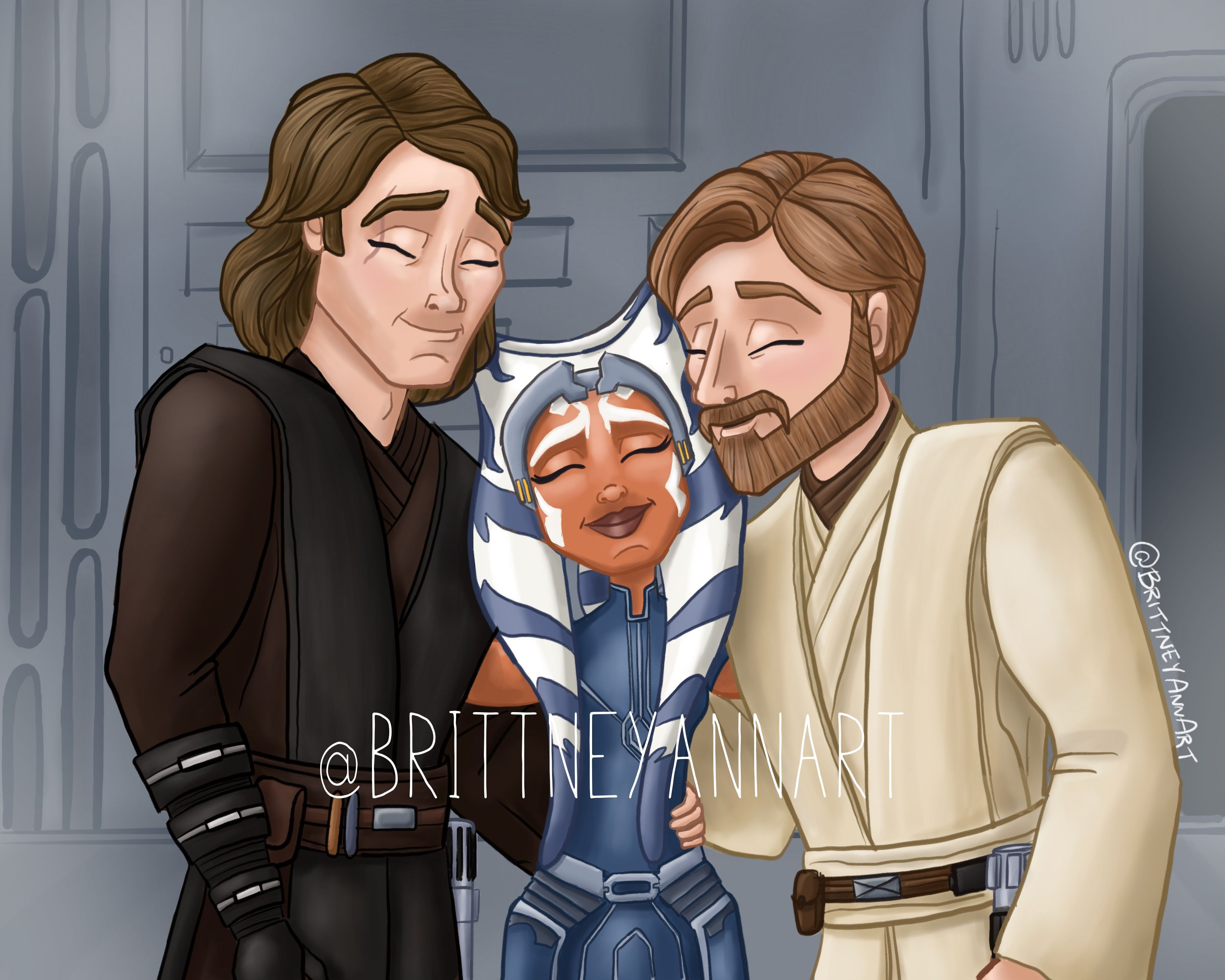 You two certainly havent changed. Anakin Skywalker