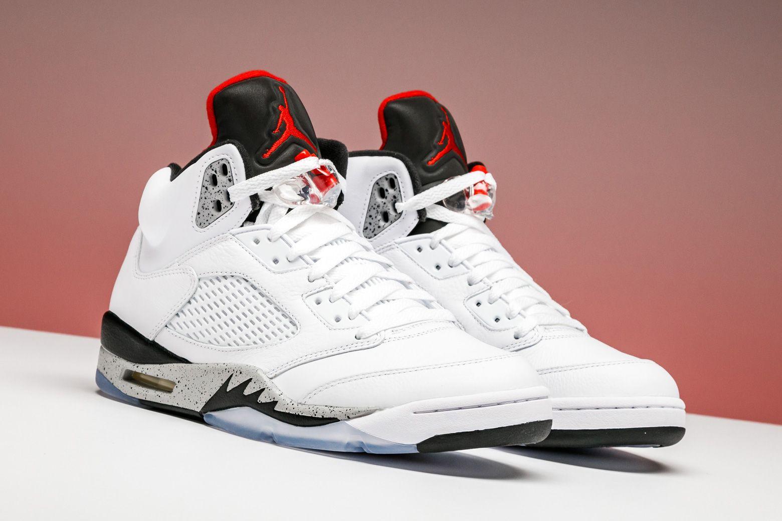 "Air Jordan 5 Retro ""CEMENT"" 136027 104 Air jordans"