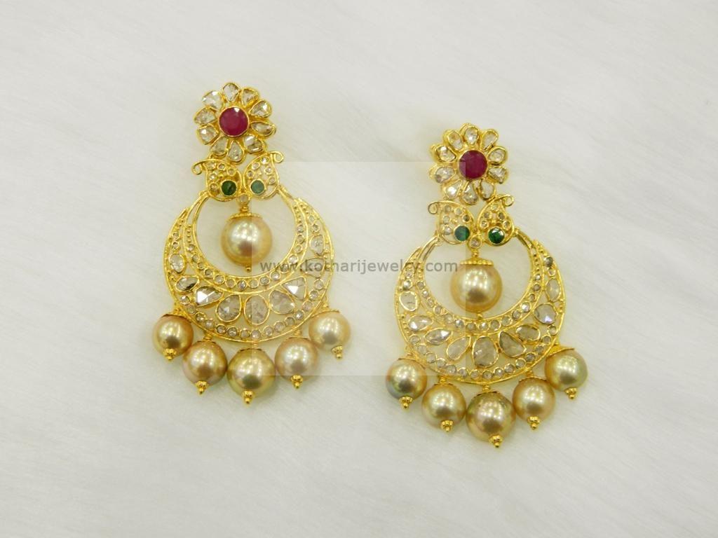 Earrings Jhumkis Chandbali Gold Jewellery Earrings Jhumkis