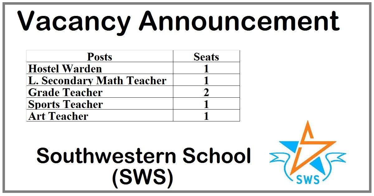 Southwestern School (SWS) (With images) Secondary math