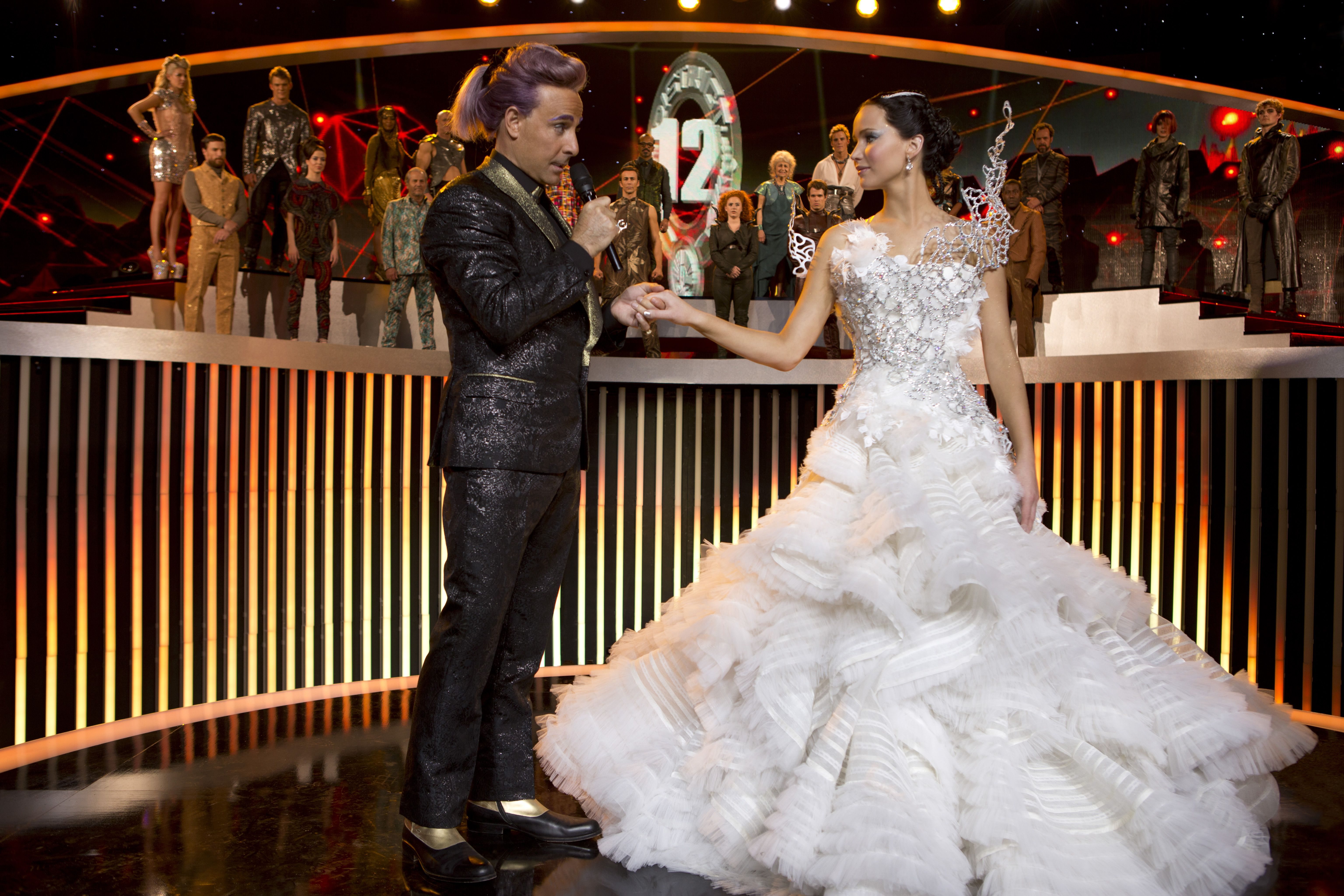 The Famous Gown The Hunger Games Catching Fire Movie Wedding