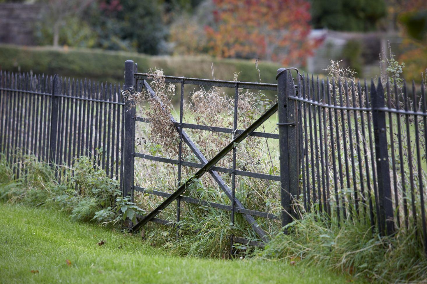 Garden Gate Design: 10 Iron Entryways with Curb Appeal | Garden gate ...