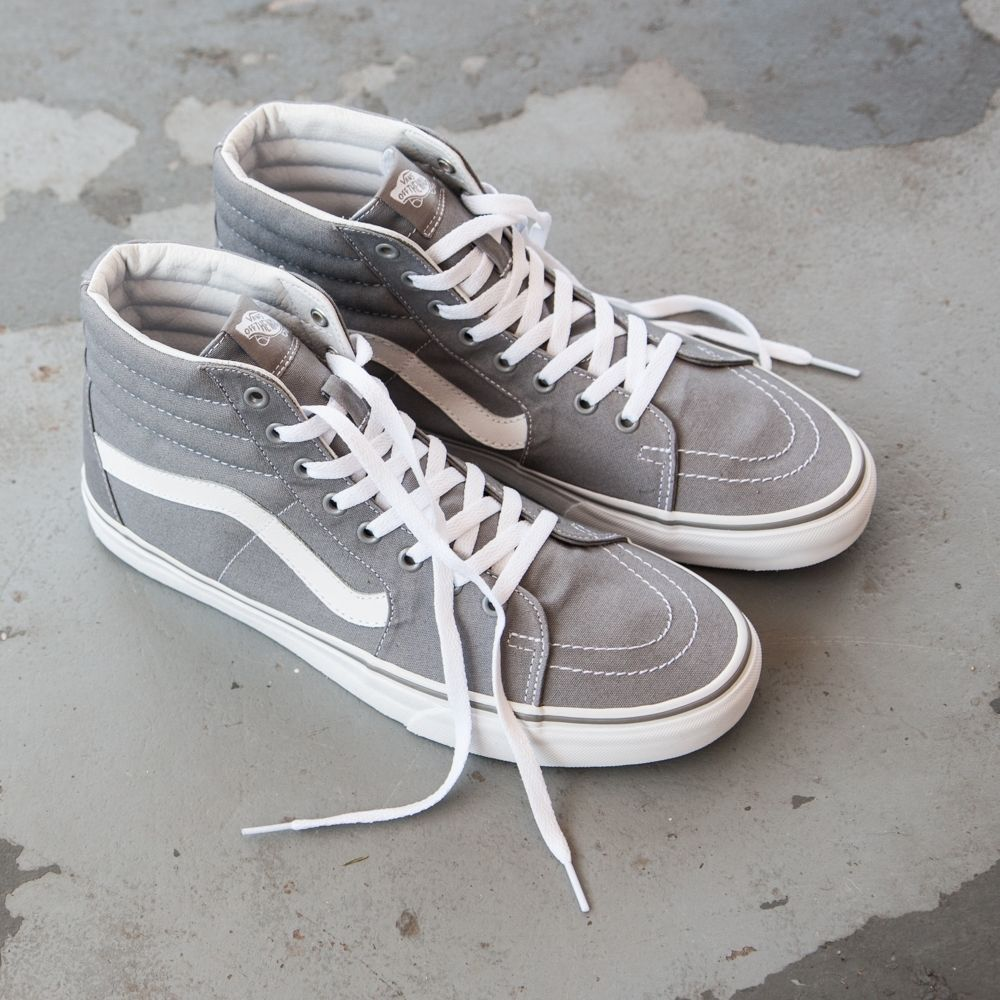 Vans Sk8 Hi Skate Shoe - Frost Gray