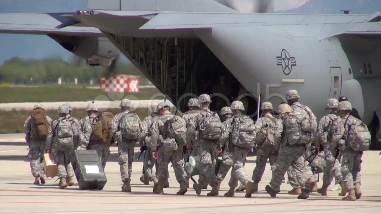 U.S. Air Force C130J Super Hercules operations Stock