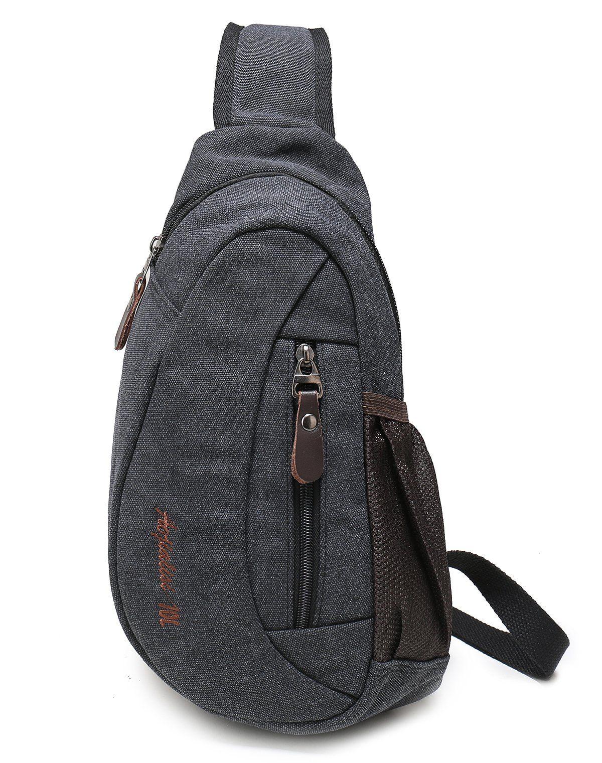 Weekend Shopper Shoulder Sling Bag Mini Backpack Cross Body Bag Crossbody  Backpack Chest Bag for Men 09df6eade8575