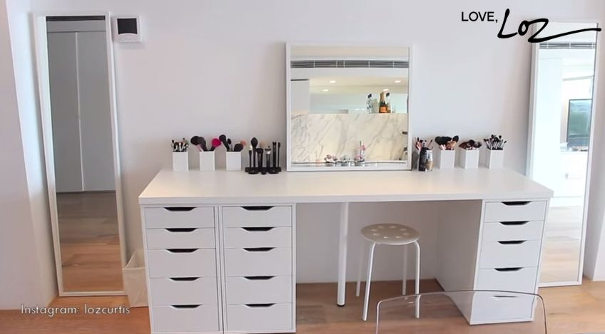 The Best Makeup Vanity System How To Organize Your