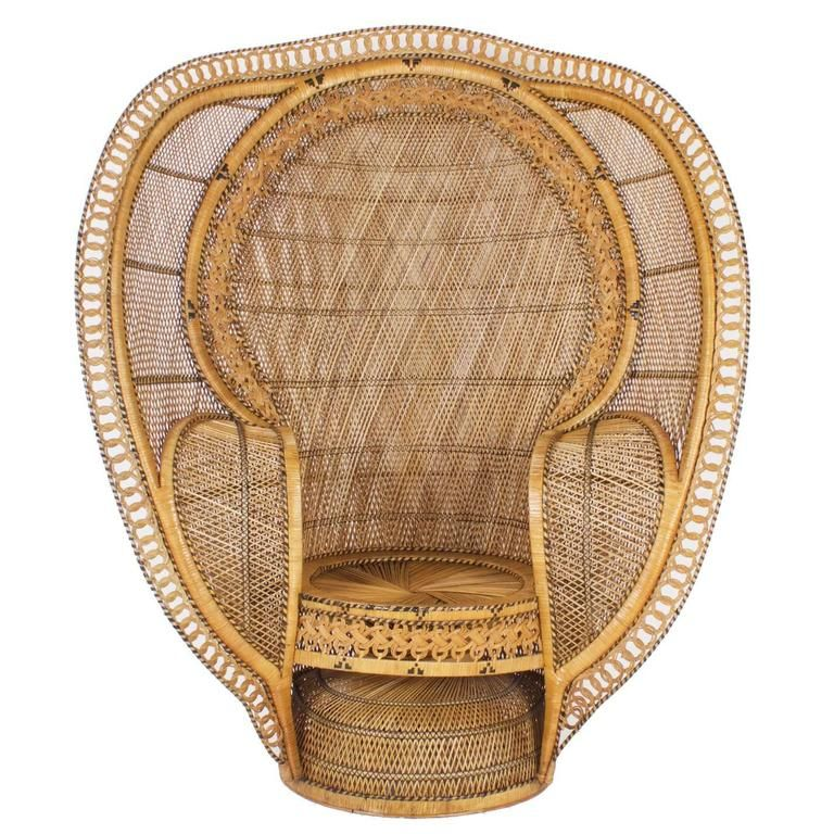 1930 S Rattan Peacock Chair Rattan Peacock Chair Wicker Peacock