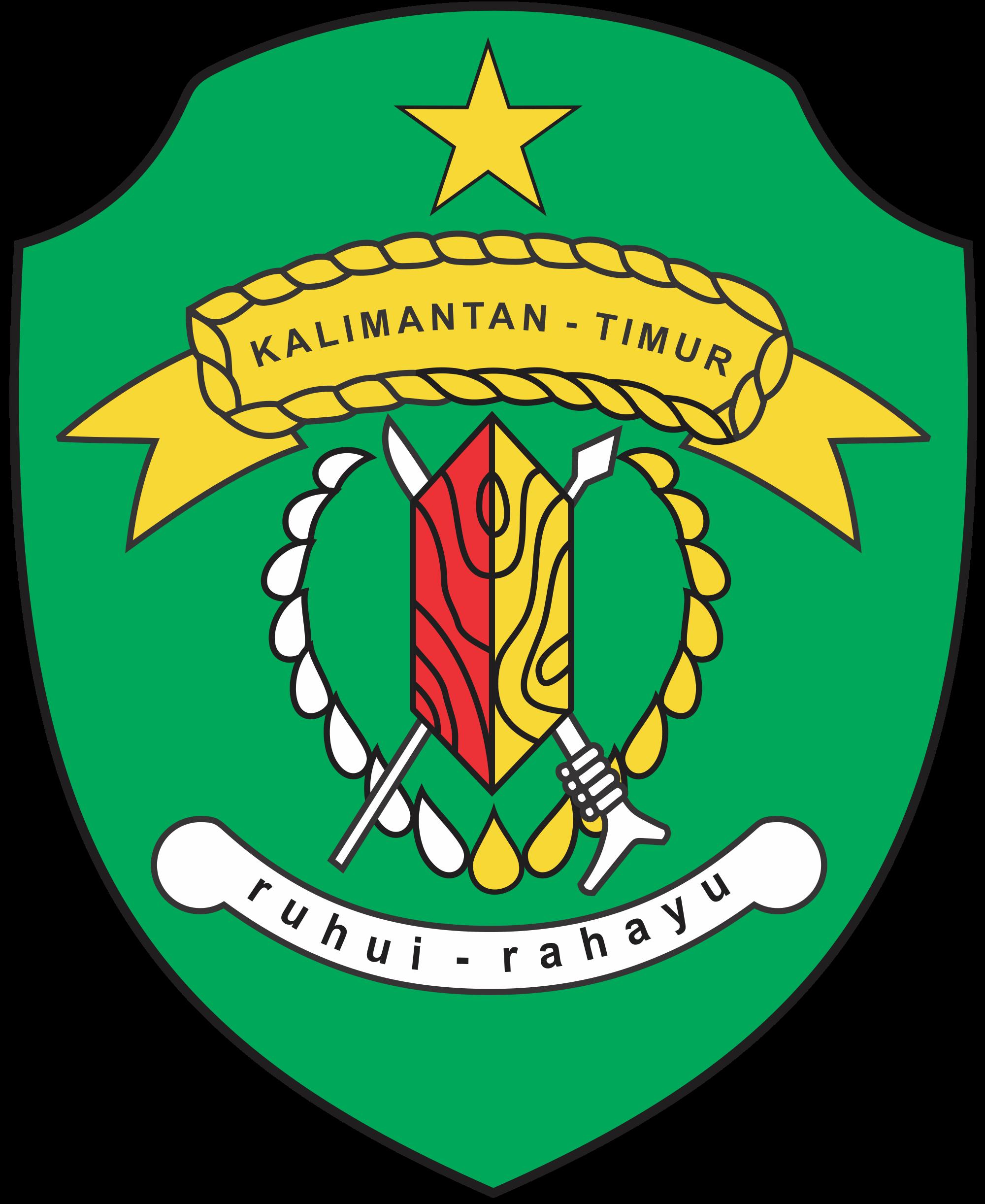 East Kalimantan em 2020 Brasão
