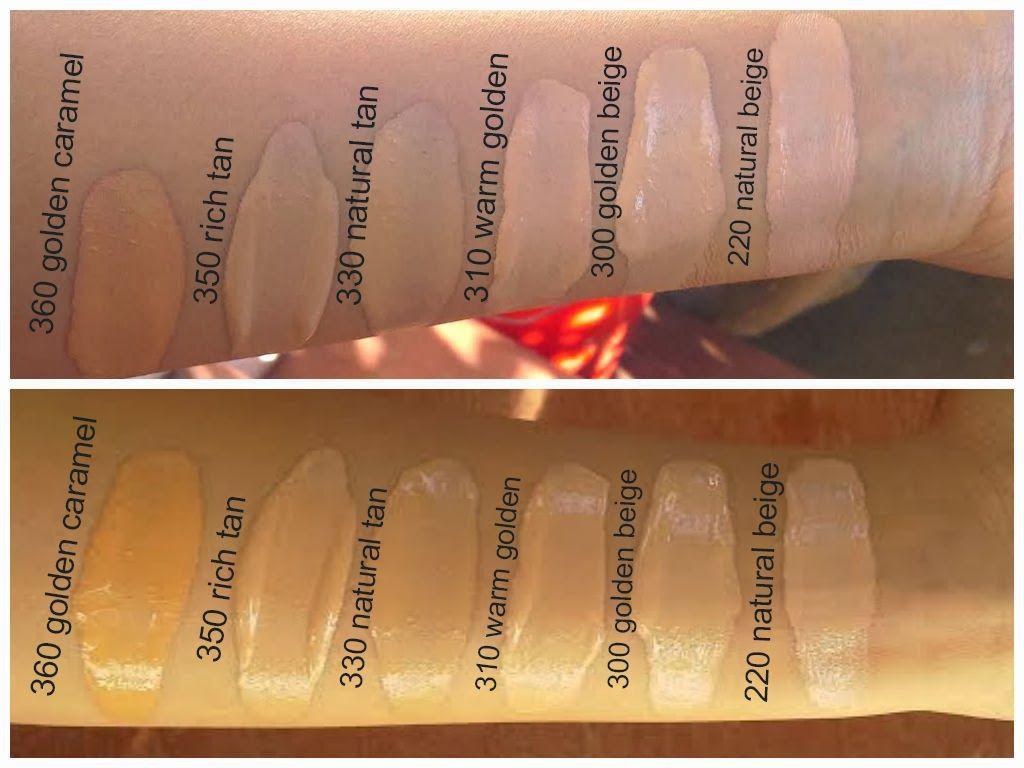 Revlon colorstay foundation swatches | makeup tips | Pinterest ...