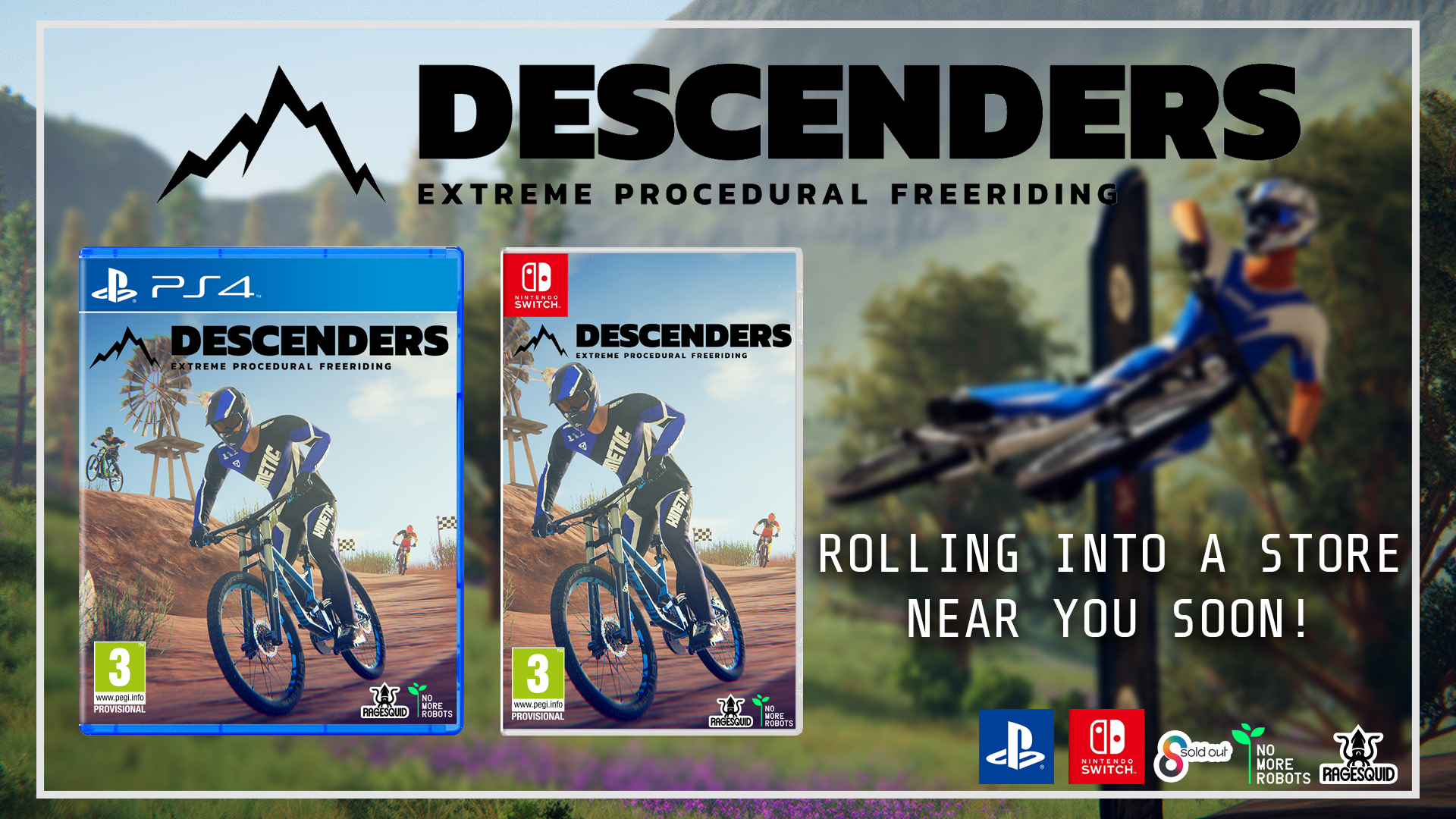 Descenders Shreds To Ps4 And Nintendo Switch This Spring In 2020