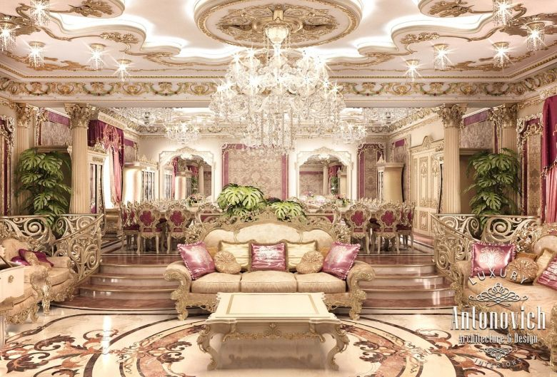 . Living Room Design in Dubai  Living Room Design Abu Dhabi  Photo 1
