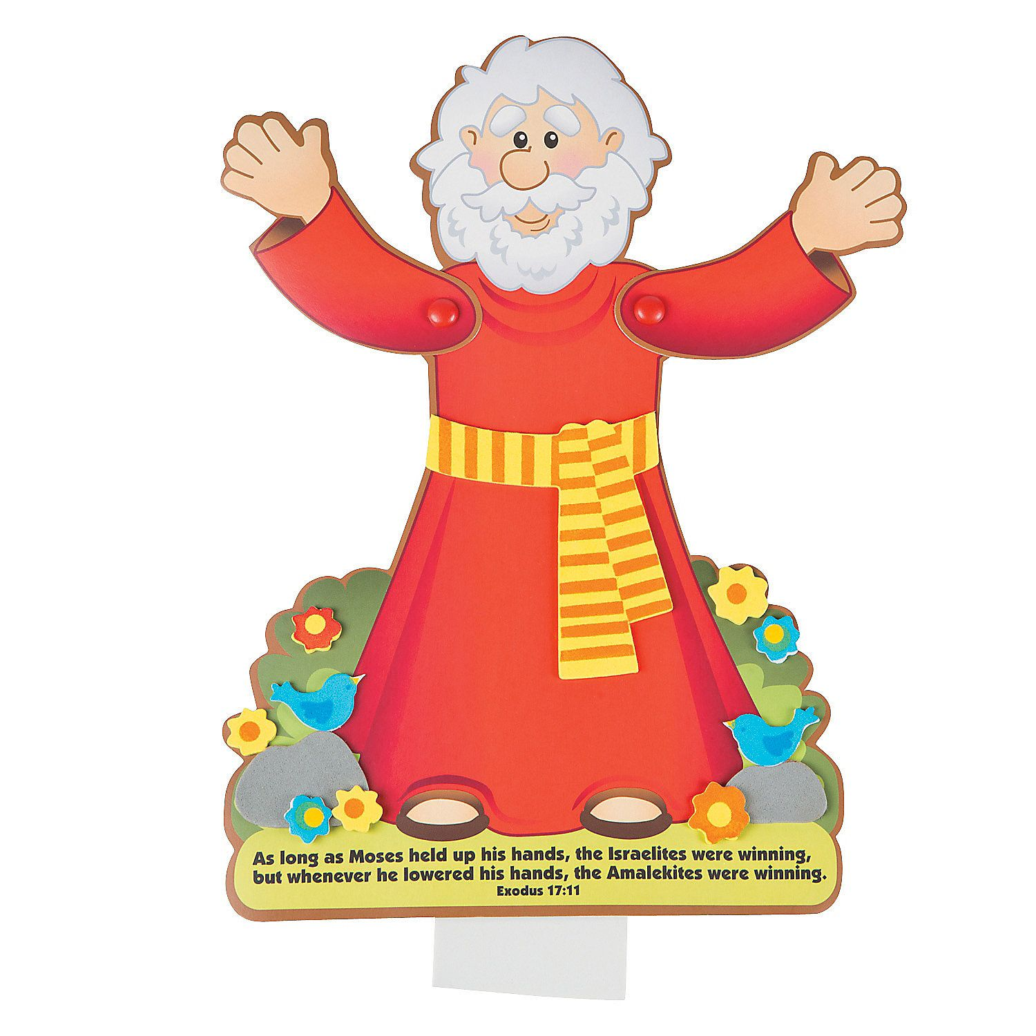 Moses Puppet Craft Kit, Novelty Crafts, Crafts For Kids, Craft