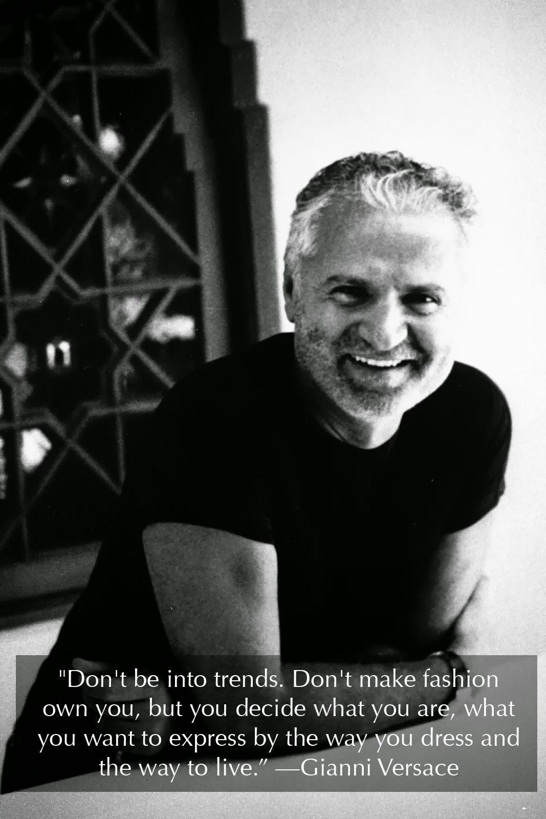 Monday Inspiration: Gianni Versace