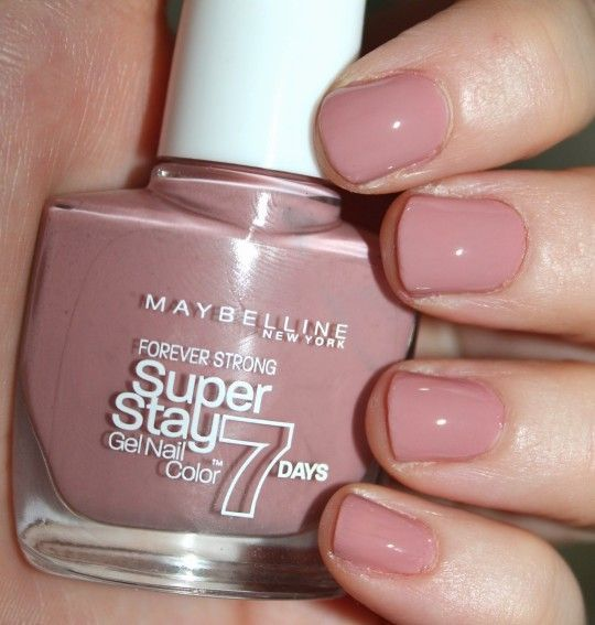 Image Result For Maybelline Super Stay 7 Day Gel Nail Color Rose Poudre Maybelline Nail Polish Nail Polish Nails