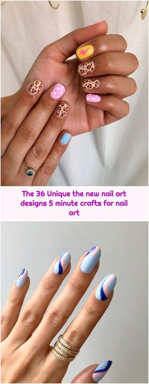 The 36 Unique The New Nail Art Designs 5 Minute Crafts For Nail Art In 2020 Nail Art Designs New Nail Art Design Nail Art Designs Summer