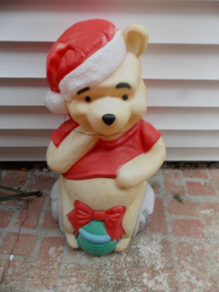 santas best winnie the pooh blowmold 33 outdoor light decor