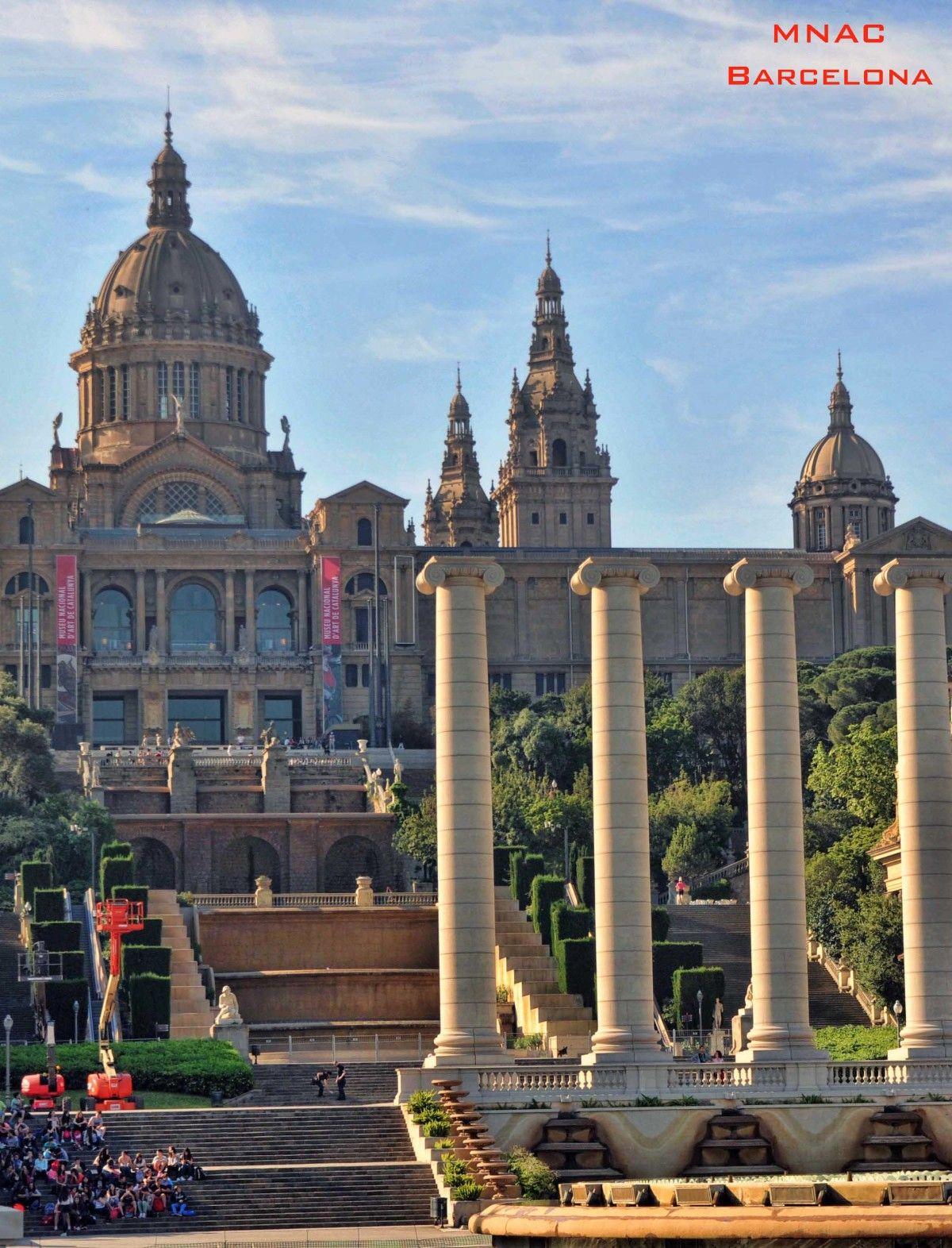 Mnac museo nacional dart de catalunya in barcelona
