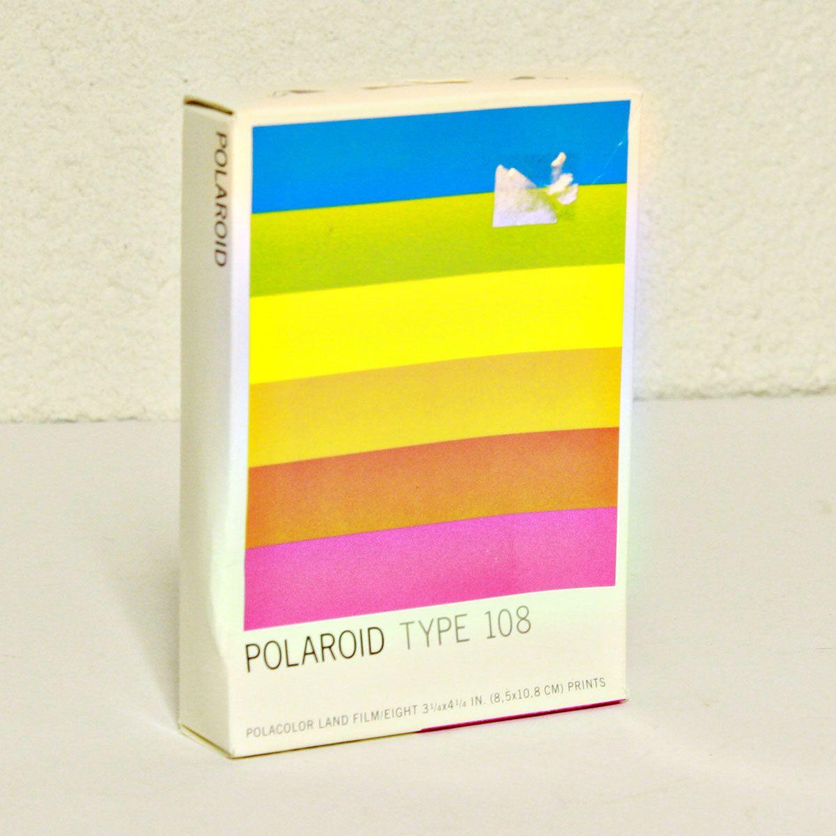 Vintage camera film - Polaroid - Type 108 - Land Camera film