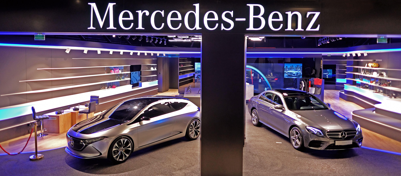Mercedes Benz City Spot Une Nouvelle Expérience Client à Parly 2 Mercedes Mercedes Benz Vente De Voiture