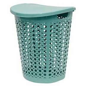 Home Logic Laundry Hamper With Lid Teal Laundry Hamper With